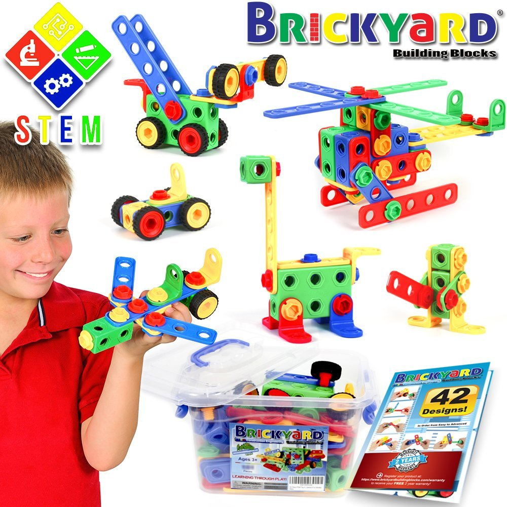163 Piece Stem Toys Kit Educational Construction