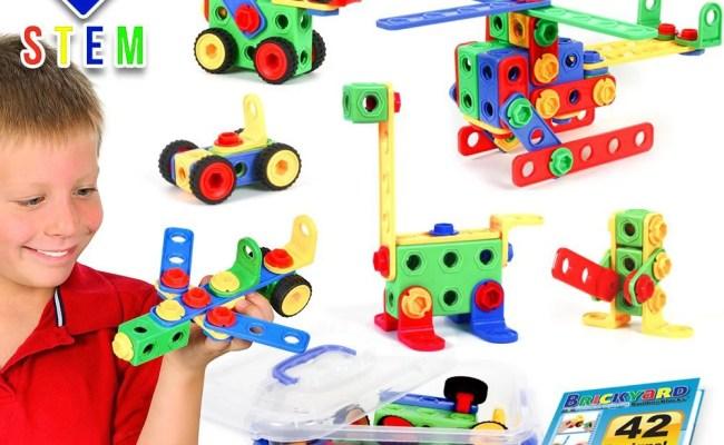 163 Piece Stem Toys Kit Educational Construction