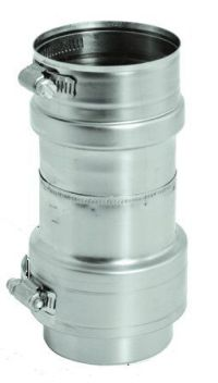 Stainless Steel Flexible Female Adapter for 3 inch Vent