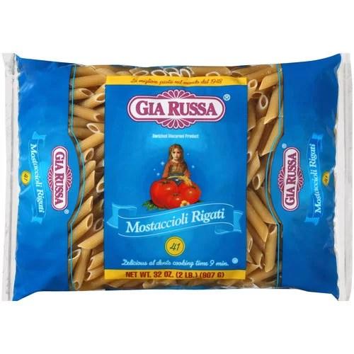 Gia Russa Mostaccioli Rigati Pasta 32 oz Walmartcom