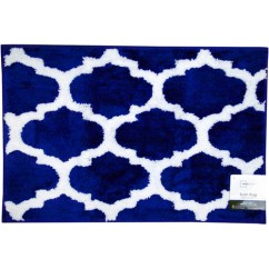 Pottery Barn Kitchen Rugs Items Blue And White Bath Rug | Roselawnlutheran