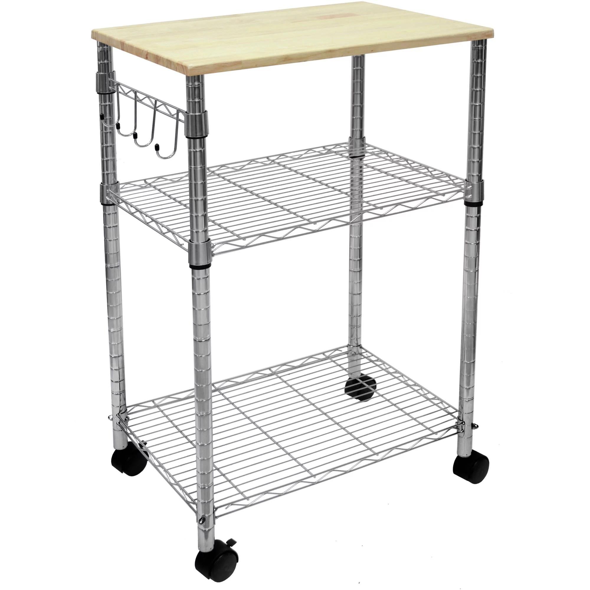 Mainstays Multipurpose Kitchen Cart, Multiple Colors