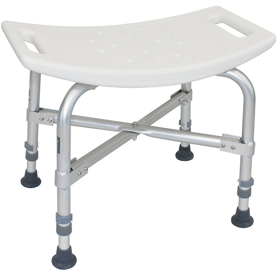 chair without back directors outdoor roscoe heavy duty shower white walmart com