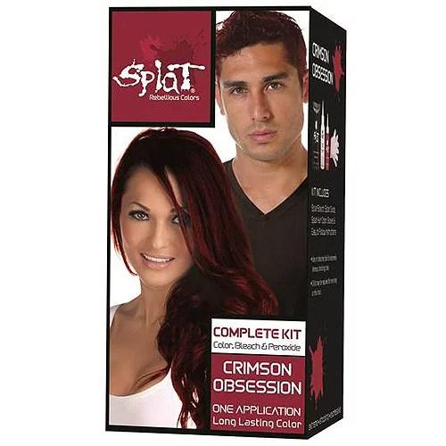 splat 30 wash hair dye kit semi-permanent