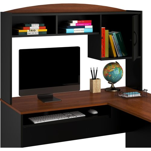 Mainstays LShaped Desk with Hutch Multiple Colors  Best