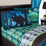 Universal Jurassic World Biggest Growl Kids Twin Sheet Set Walmart Com Walmart Com