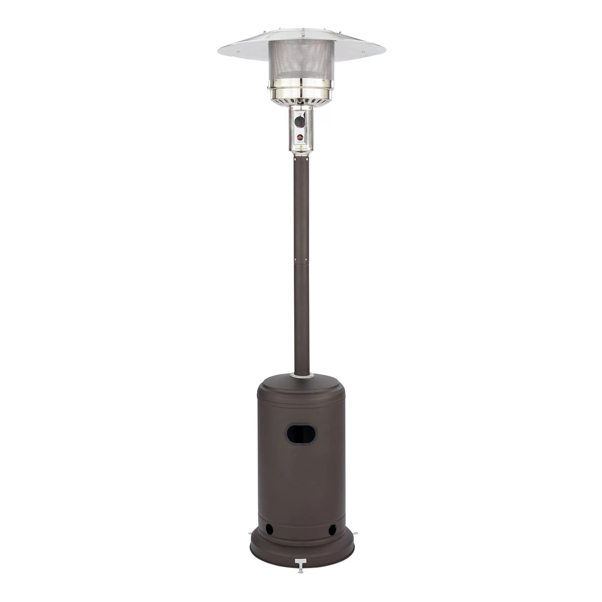 tall mocha mainstays patio heater