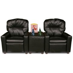 2 Seat Theater Chairs Kids Chair Ikea Dozydotes Seating Recliner Walmart Com