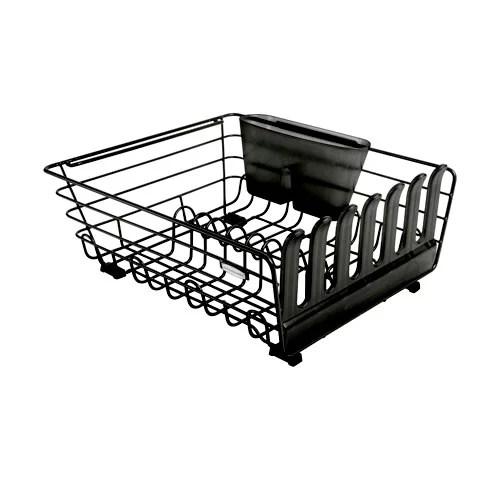 rubbermaid 3pc enhanced dish rack drainer sink mat