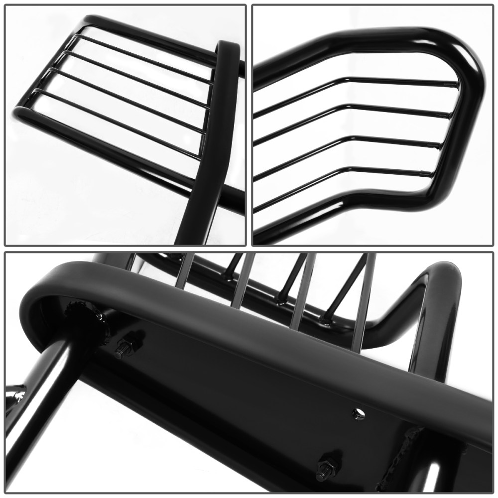 medium resolution of for 02 06 chevy avalanche with cladding front bumper protector brush grille guard black 03 04 05 walmart com