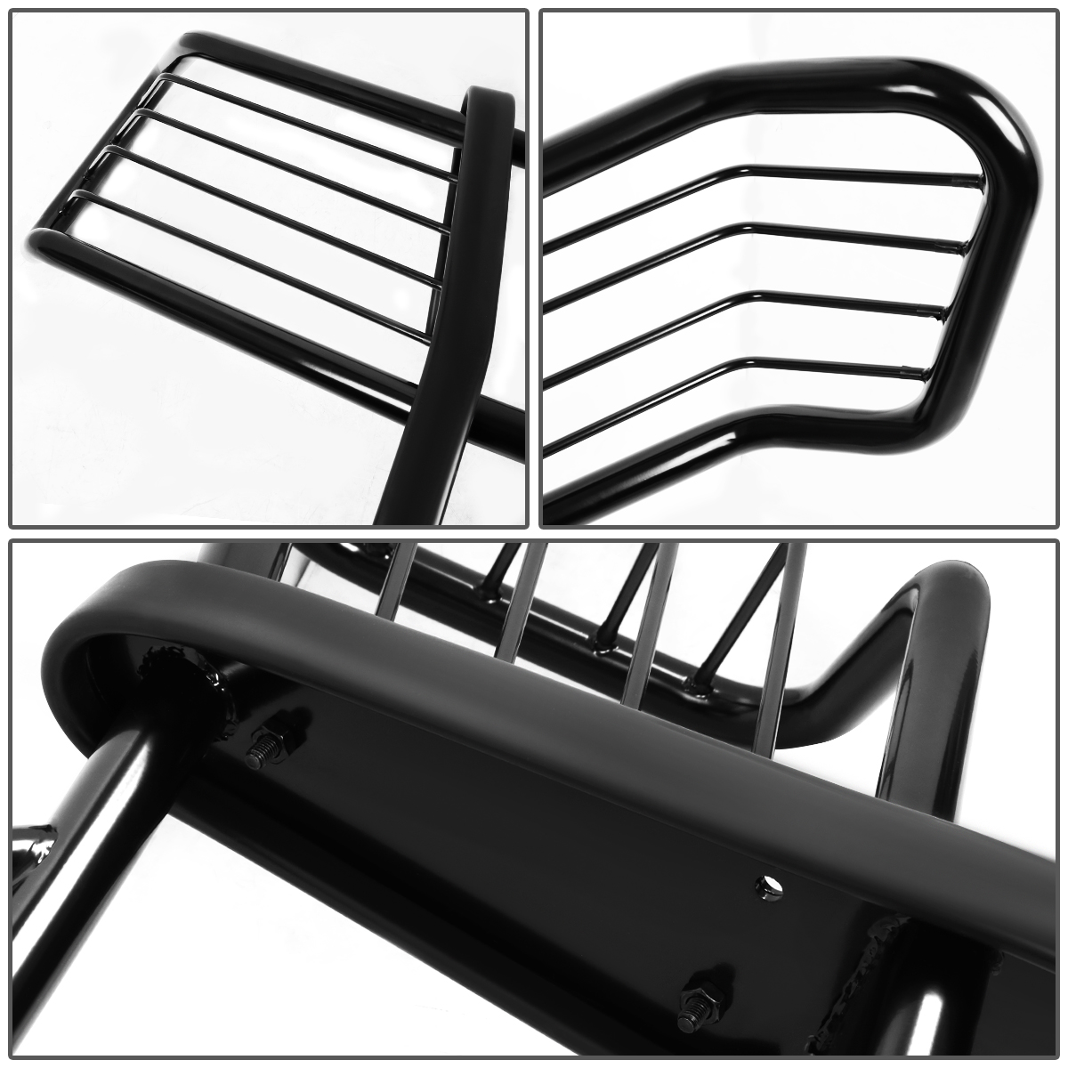 hight resolution of for 02 06 chevy avalanche with cladding front bumper protector brush grille guard black 03 04 05 walmart com