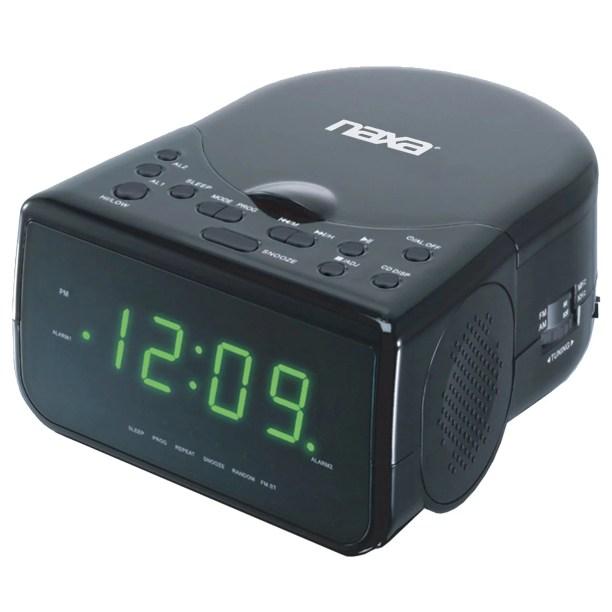 Alarm Clock Radio With Cd Player