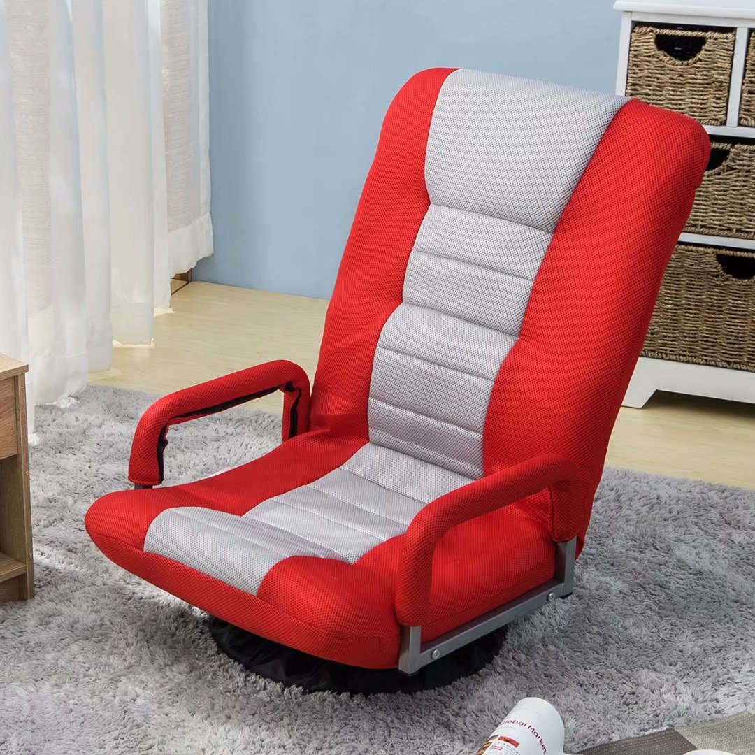TOPMAX Floor Chair Swivel Video Rocker Gaming Chair