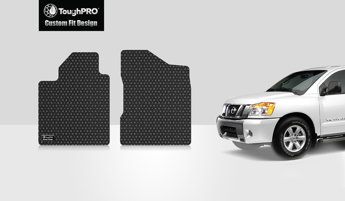 Toughpro Nissan Titan Two Front Mats All Weather