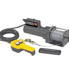 badland electric winch 1500 lb capacity 120 volt ac hoist control 96127 walmart com [ 1200 x 1200 Pixel ]