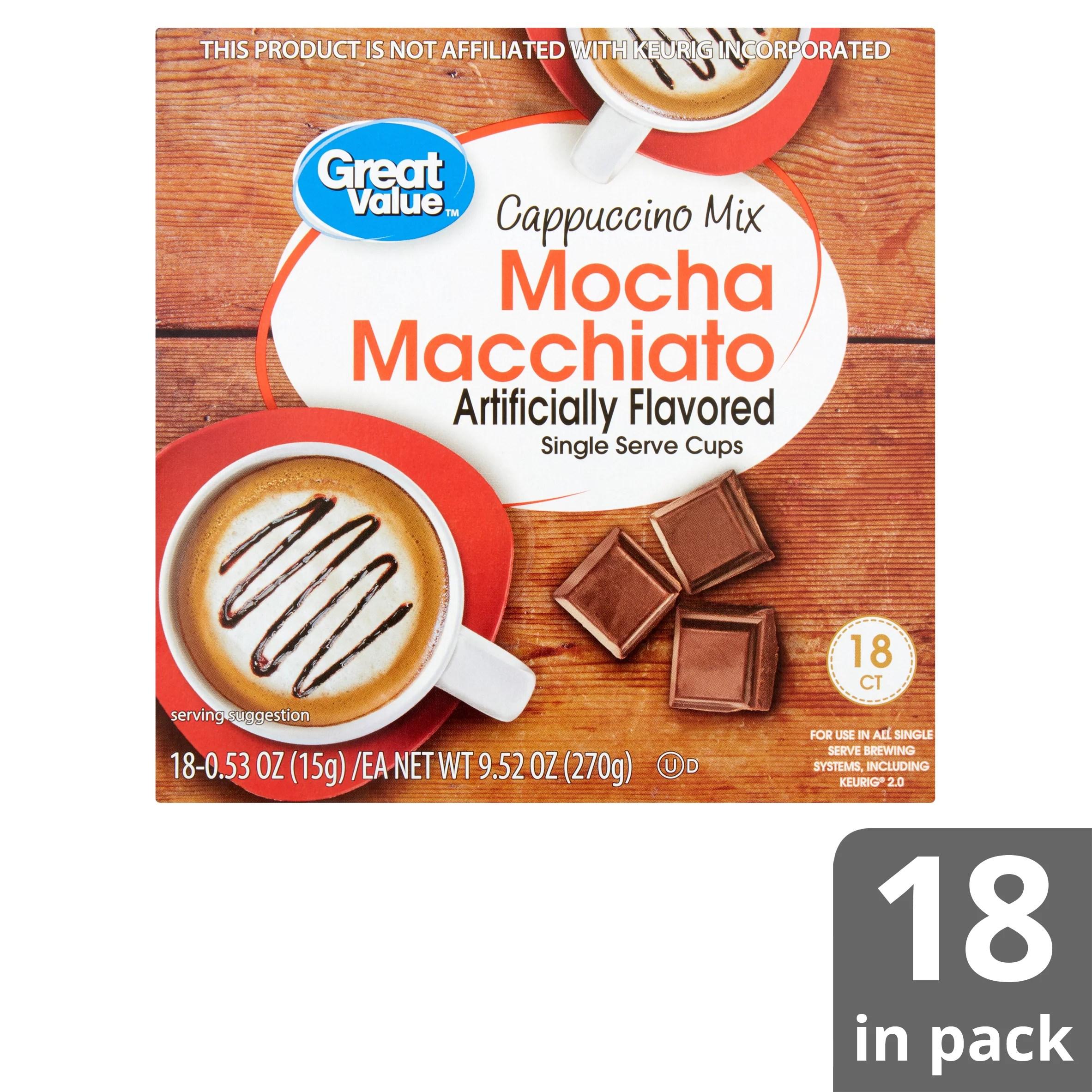 great value mocha macchiato