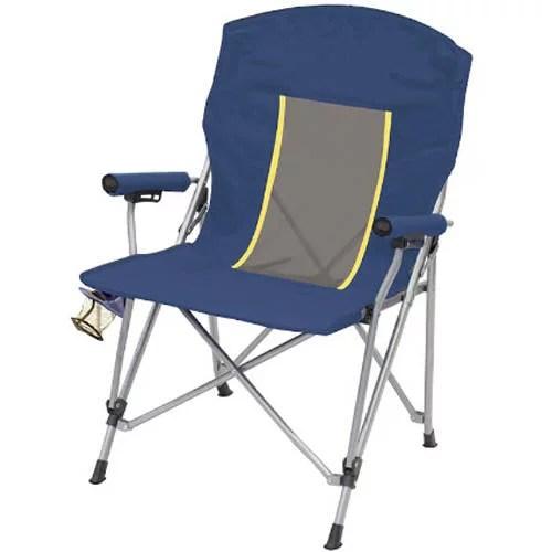 Ozark Trail Mesh Hard Arm Chair Blue  Walmartcom