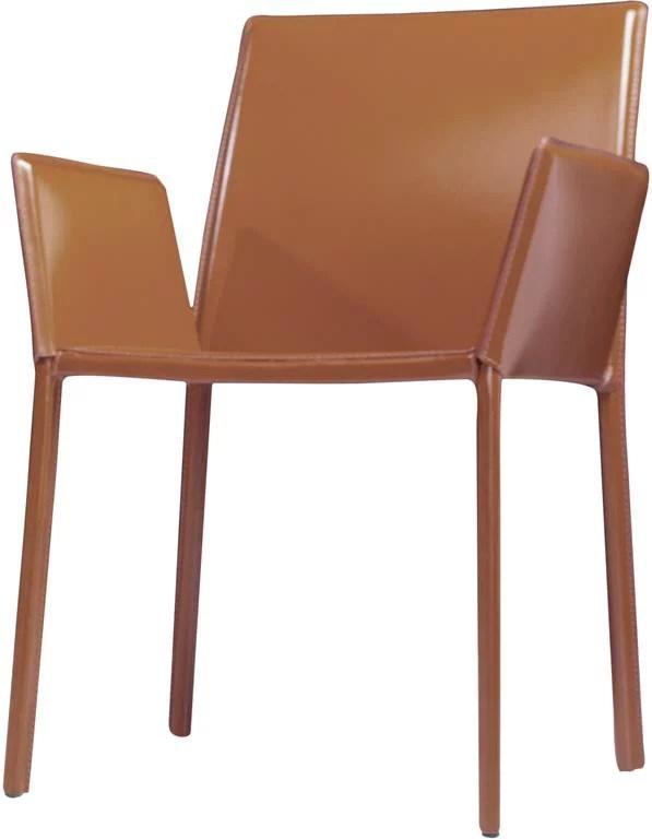 modloft dining chair desk seat cushion sanctuary in whisky walmart com