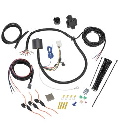 tekonsha 22119 trailer wiring connector wiring harness 7 way and plug and play for brake control [ 1500 x 1500 Pixel ]