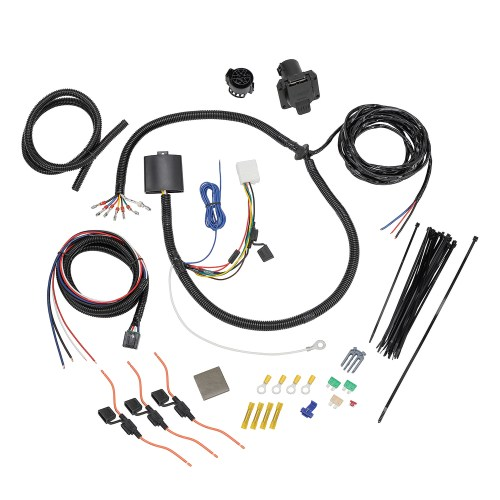 small resolution of tekonsha 22119 trailer wiring connector wiring harness 7 way and plug and play for brake control