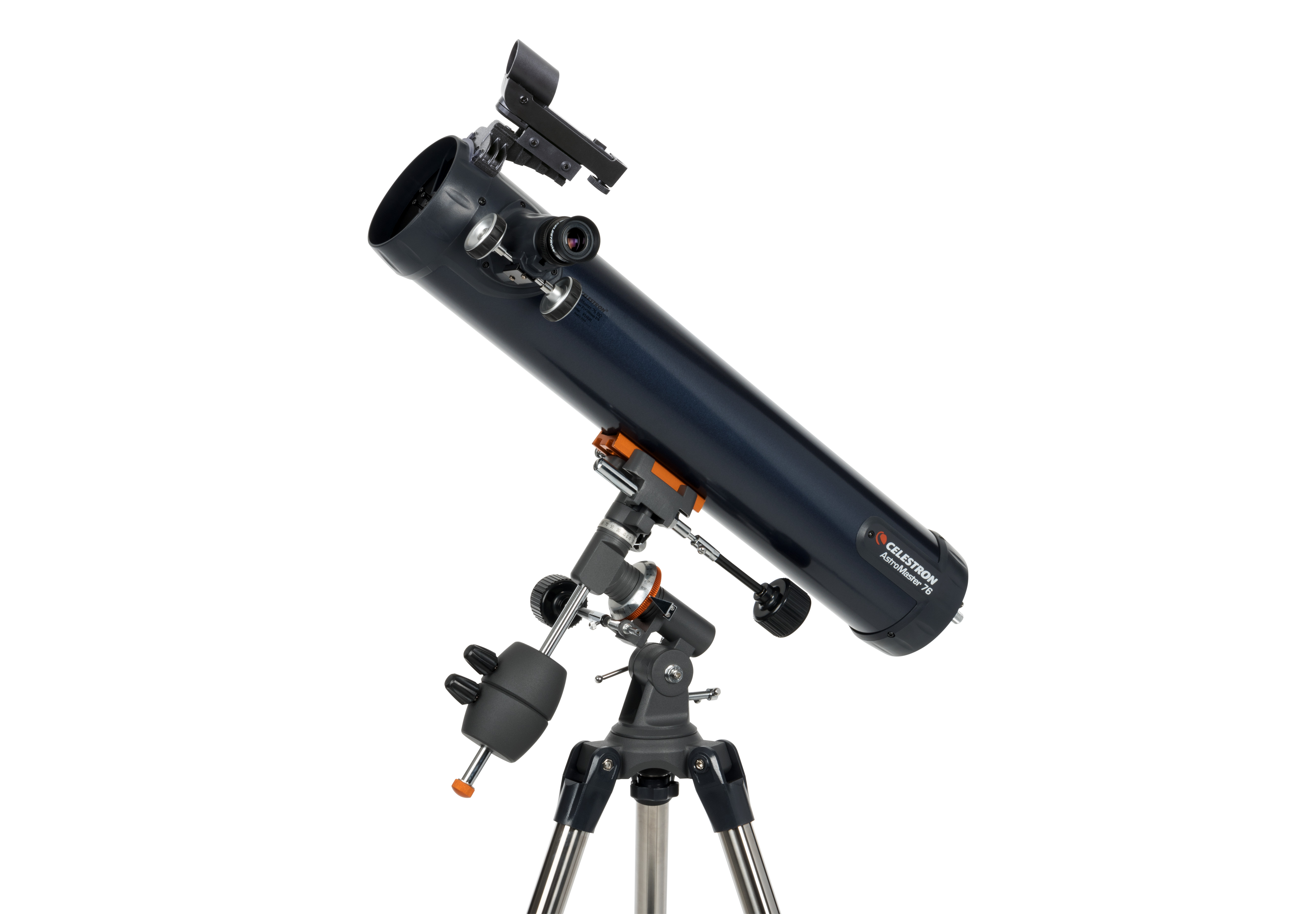 Celestron astromaster eq md reflector telescope with motor drive