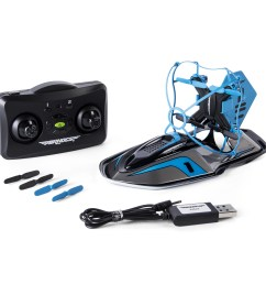 air hogs 2 in 1 hyper drift drone for kids capable of high speed racing and flying blue [ 2500 x 2500 Pixel ]