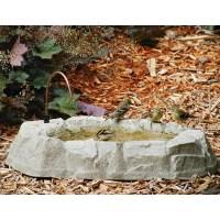 Backyard Nature Products Rocky Mountain Ground Bird Bath ...