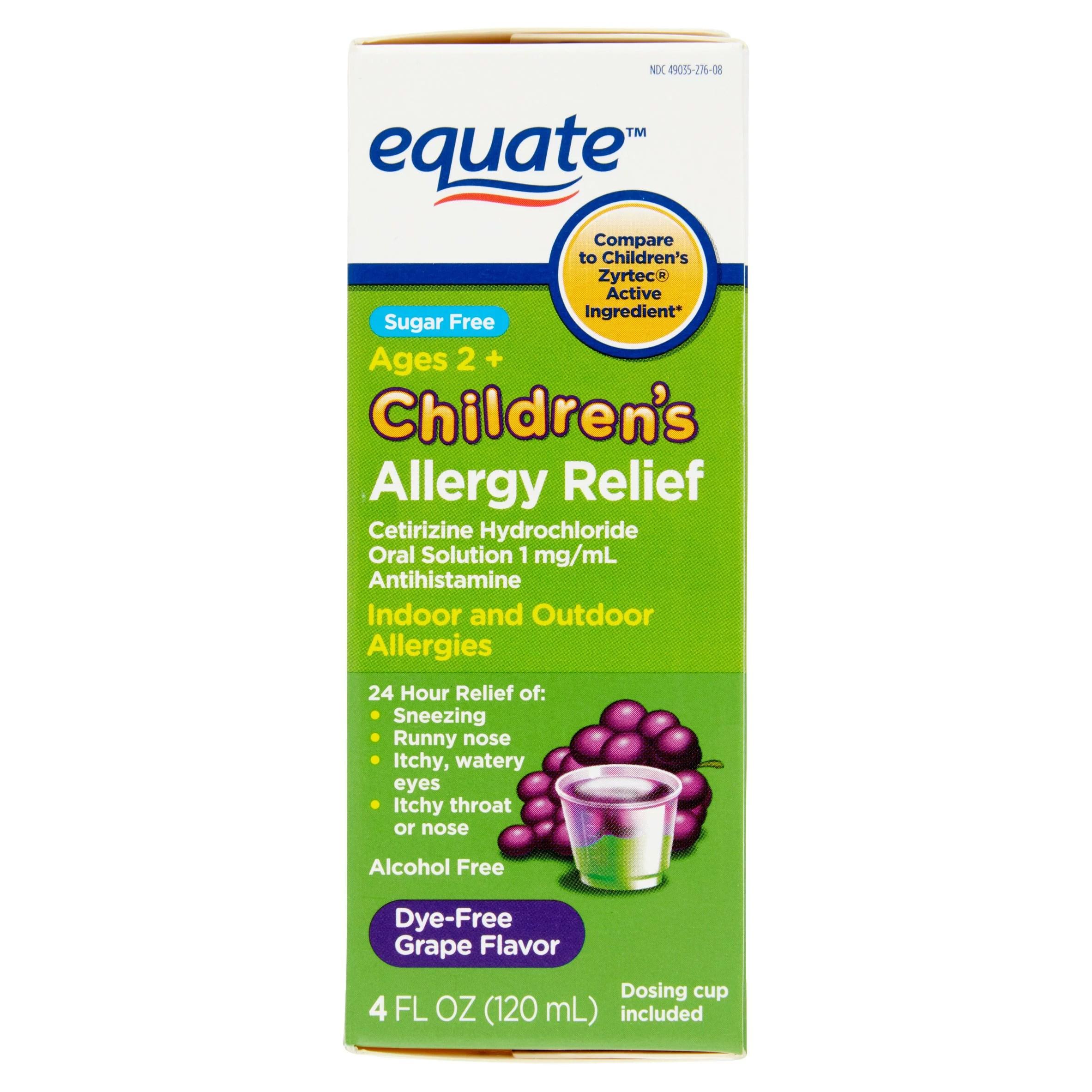 Cetirizine Syrup Ip Dosage For Babies | Kids Matttroy