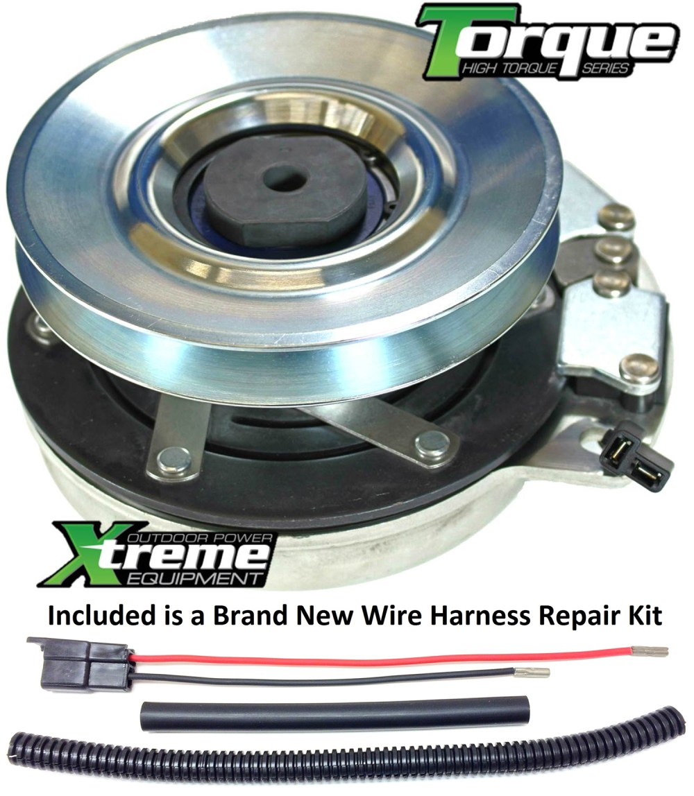 medium resolution of bundle 2 items pto electric blade clutch wire harness repair kit replaces dixon pto clutch 574607001 upgraded bearings wire harness repair kit
