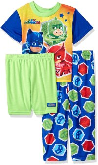 Pj Mask - PJ Masks Character Boys' 3-Piece Pajama Set ...
