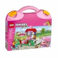 LEGO Juniors House Suitcase Play Set - Walmart.com