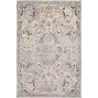 Surya Carpet, Inc. Persian Inspired Neutral Grey Area Rug ...
