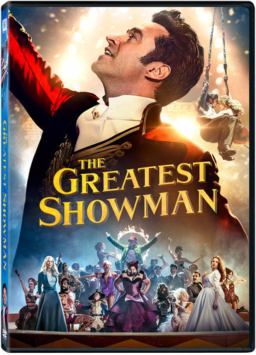 The Greatest Showman Dvd Walmart