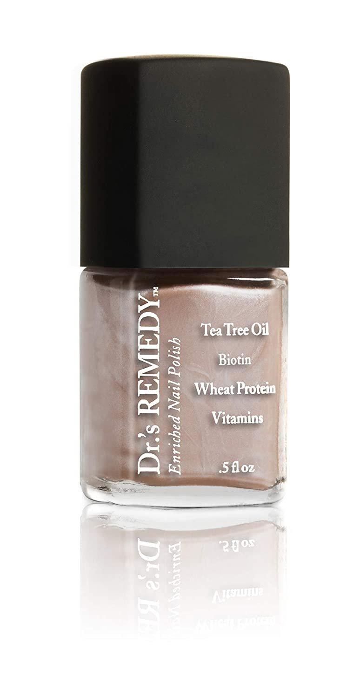 Tea Tree Oil Nail Polish : polish, Dr.'s, Remedy, REMEDY, Enriched, Polish,, POISED, Champagne,, Walmart.com