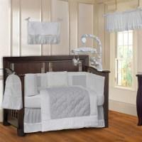 Babyfad Minky 10 Piece Crib Bedding Set - Walmart.com