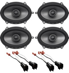 polk 5x7 front rear factory speaker replacement kit for 2007 ford mustang walmart com [ 1700 x 1674 Pixel ]