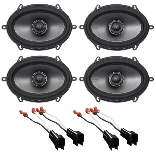 small resolution of polk 5x7 front rear factory speaker replacement kit for 2007 ford mustang walmart com
