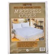 Vinyl Mattress Cover Zippered Twin 1 Pkg