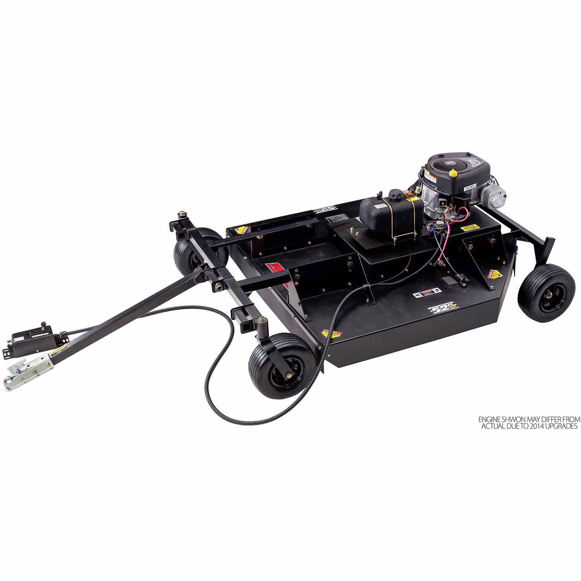 hight resolution of swisher fc14560bs 14 5 hp 60 electric start finish cut trail mower walmart com