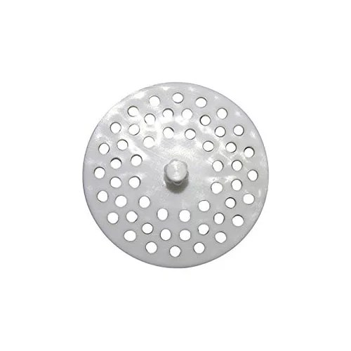 larsen supply co inc 02 4021 white plastic sink strainer