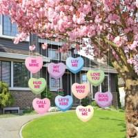 Valentine's Lawn Decorations