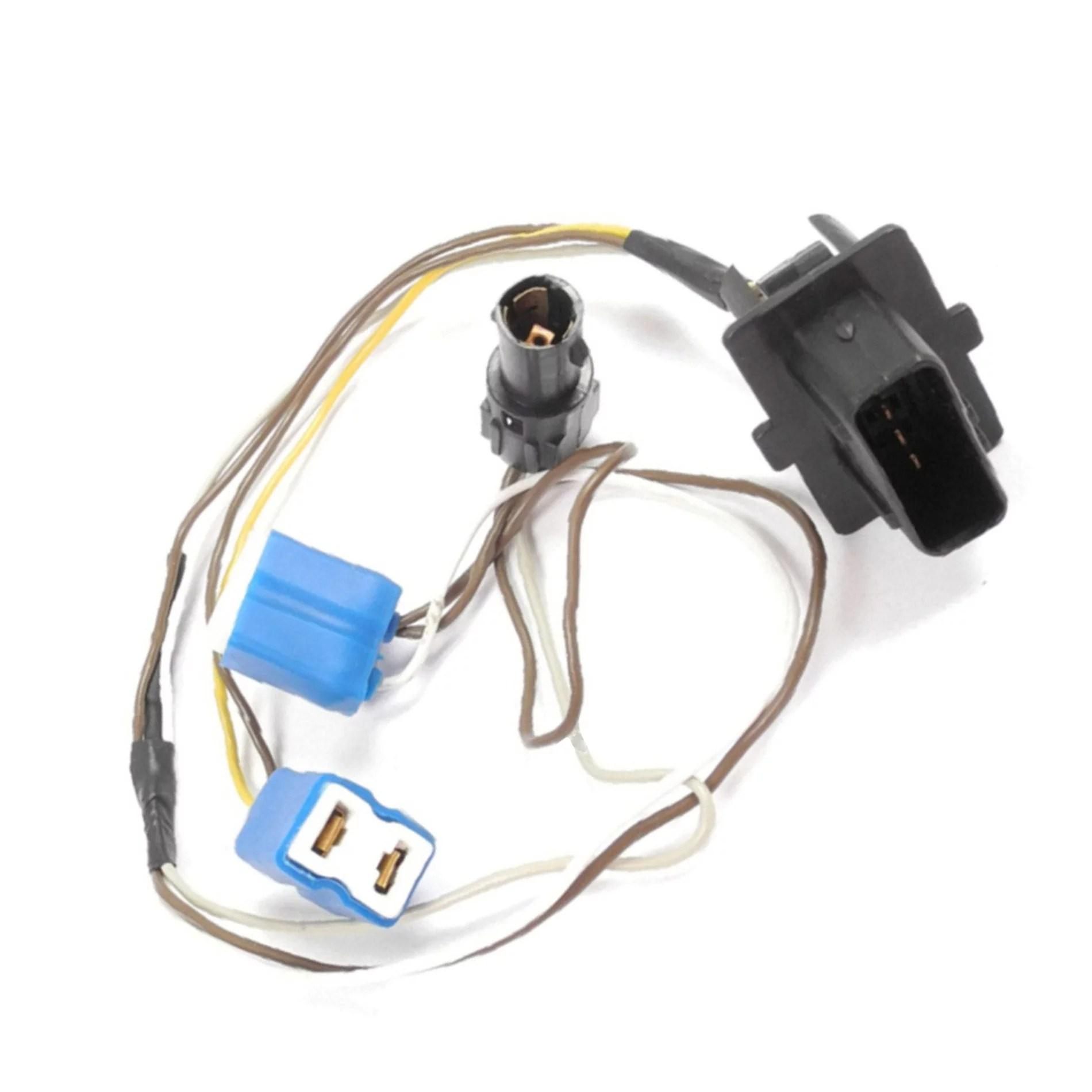 hight resolution of brand new for mercedes benz e430 e420 w210 left headlight wire harness ceramic connector walmart com