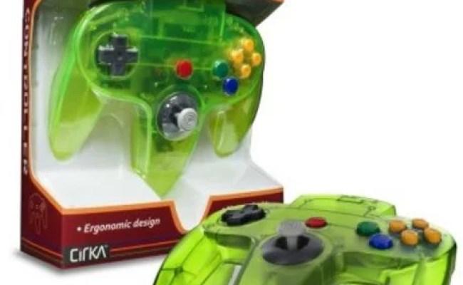 Cirka N64 Controller Cyanine Green For Nintendo 64