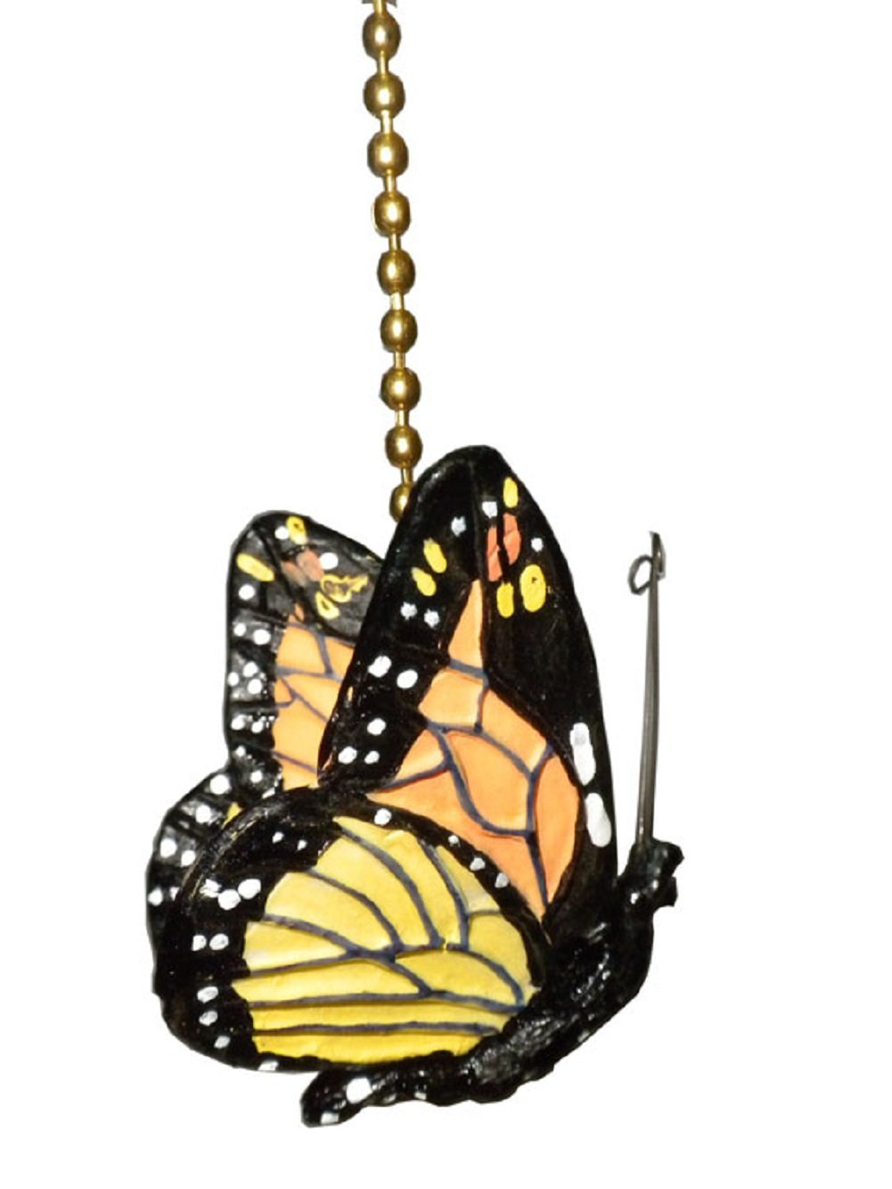 monarch Butterfly Ceiling Fan Pull Chain Ornament Decor