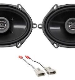 rear hifonics factory speaker replacement kit for 1994 1997 ford ranger walmart com [ 1700 x 932 Pixel ]