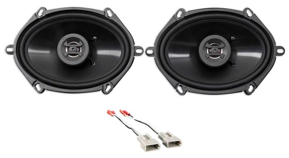 medium resolution of rear hifonics factory speaker replacement kit for 1994 1997 ford ranger walmart com