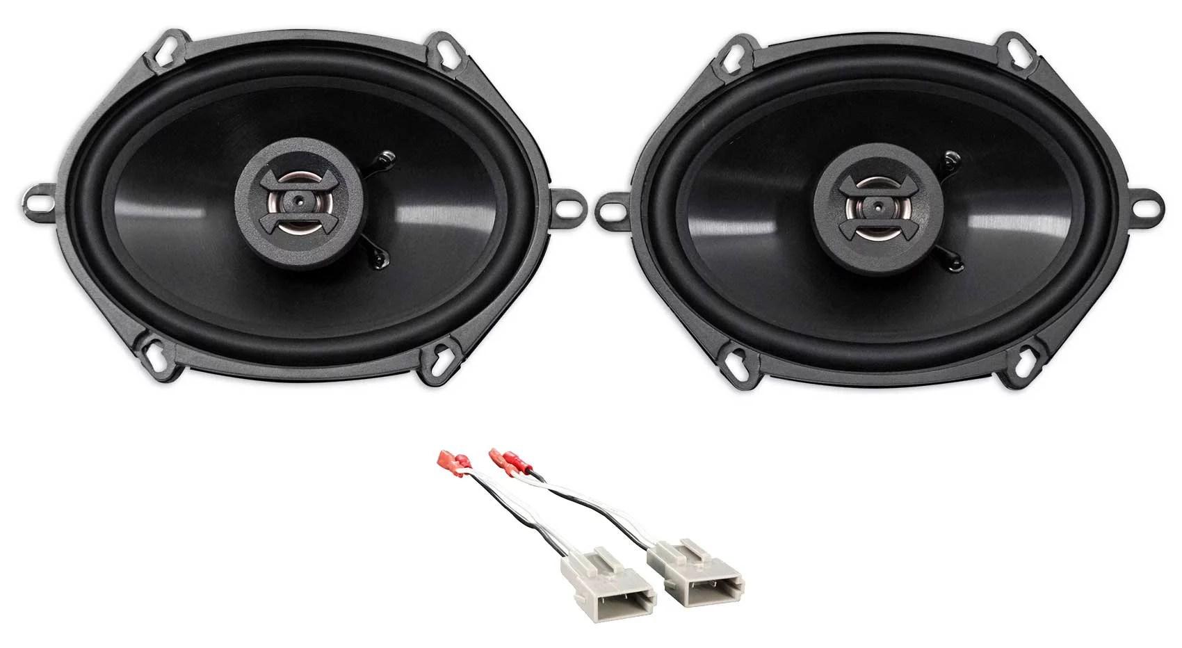 hight resolution of rear hifonics factory speaker replacement kit for 1994 1997 ford ranger walmart com