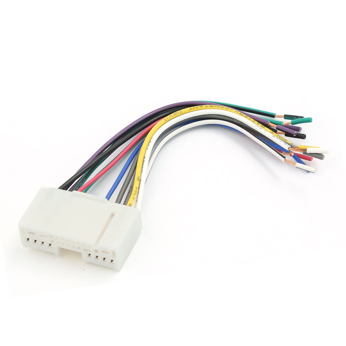 small resolution of car radio stereo cd player wiring harness wire adapter car stereo wiring harness auto wire harness