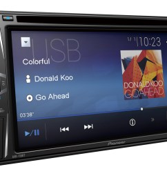 pioneer avh 110bt dvd 6 2 screen double din dvd bluetooth receiver [ 1500 x 1045 Pixel ]
