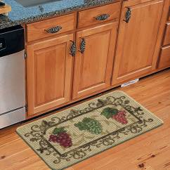 Walmart Kitchen Rugs New Cost Mainstays Nature Trends Grape Bunches Printed Mat 18 X 30 Com